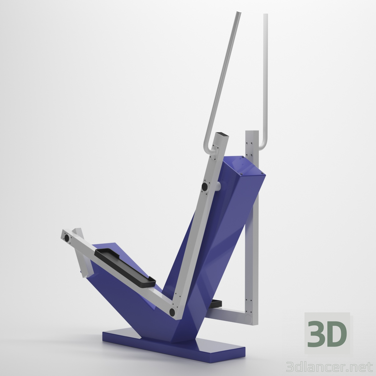 "3d Street exercise machine ""Step"" model buy - render"