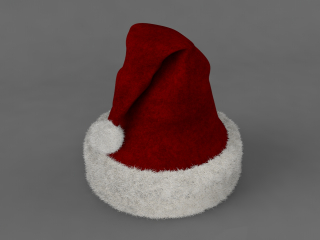 Cappello di Natale 3D