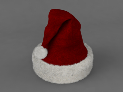 Chapéu de Natal 3D