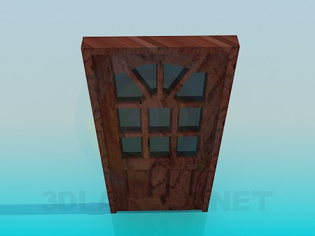 3d моделирование Входная дверь модель скачать бесплатно