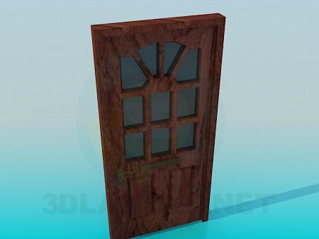 3d model Entrance door - preview