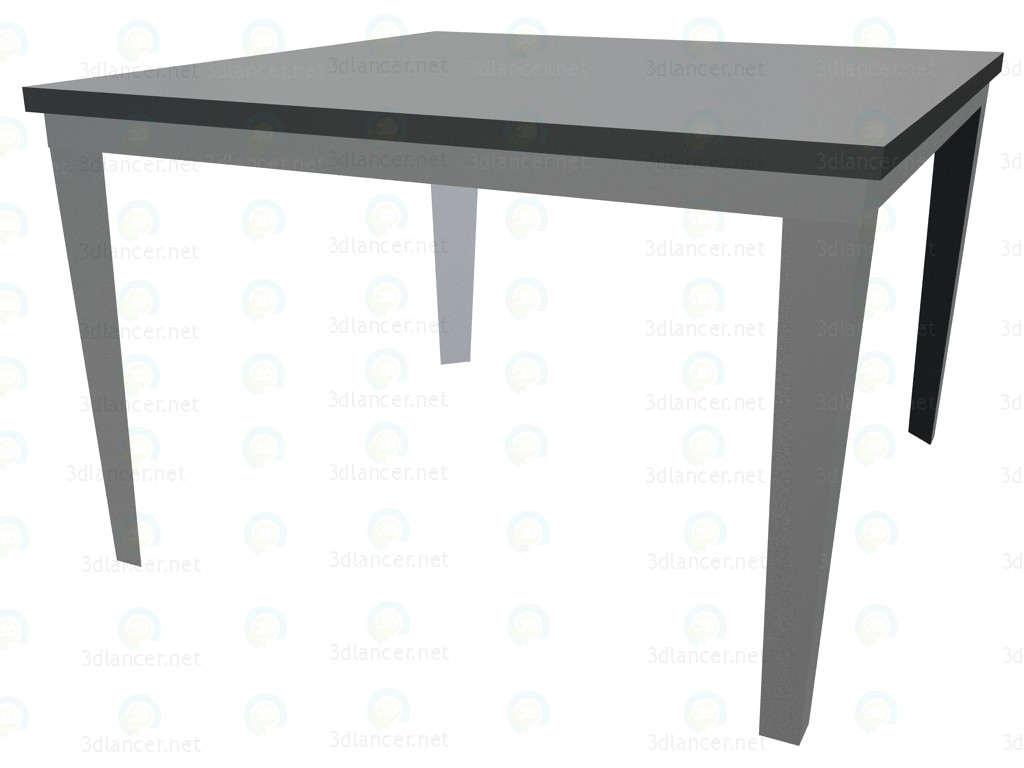 3d modeling Meeting table 700x700 model free download