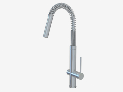 Sink mixer with drawer (00909)
