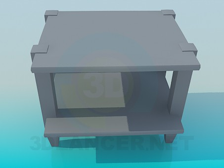 3d model Table addl - preview