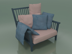 Lounge Chair (01, Blue)