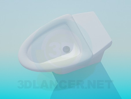 modelo 3D Aseo de triángulo - escuchar
