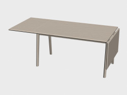 Dining table (ch006, one edge raised)