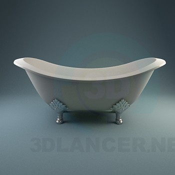 3d model bathtub - preview