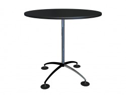 Round table high 1100h1100 with long legs