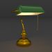 3d model Banker table lamp - preview