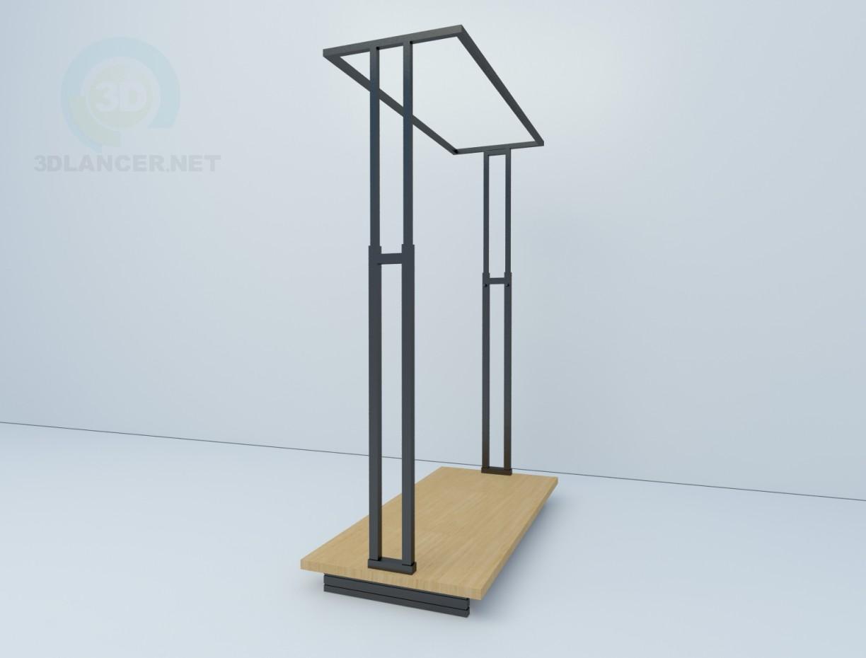 3d модель Вешало Frame 07 Штрих-М – превью