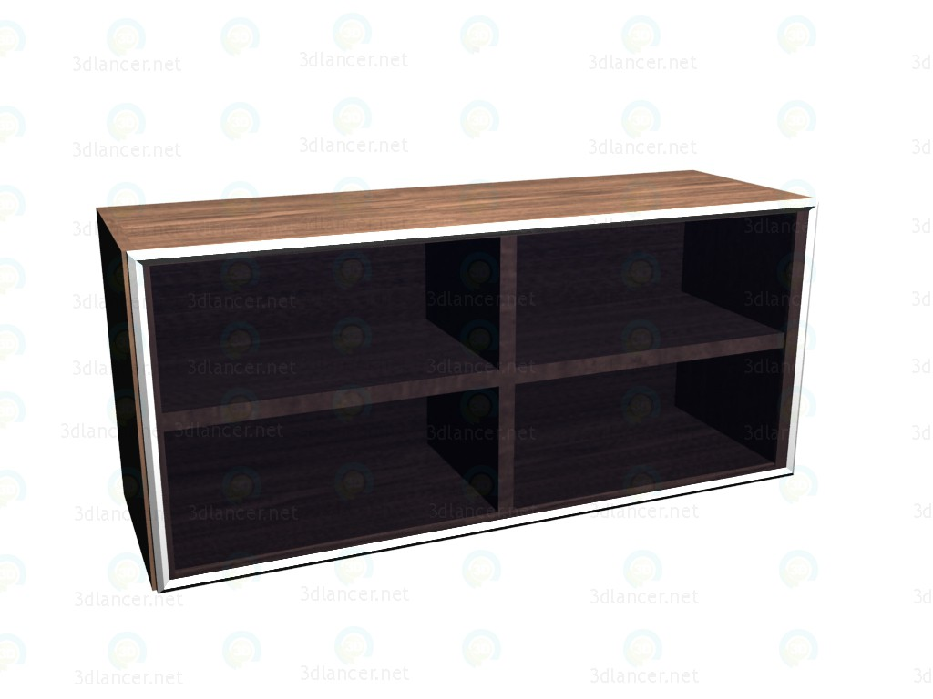 3d model Wardrobe hinged horizontal coolers VOX - preview