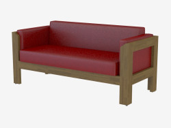 Sofá cuero moderno Niyan 2