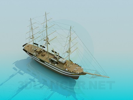 3d model Sailfish - preview