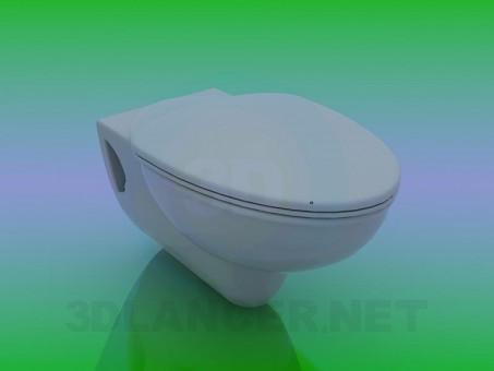 3d modeling WC model free download