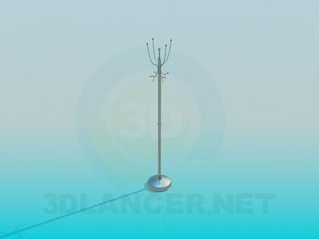 3 डी मॉडलिंग कोट हैंगर मॉडल नि: शुल्क डाउनलोड