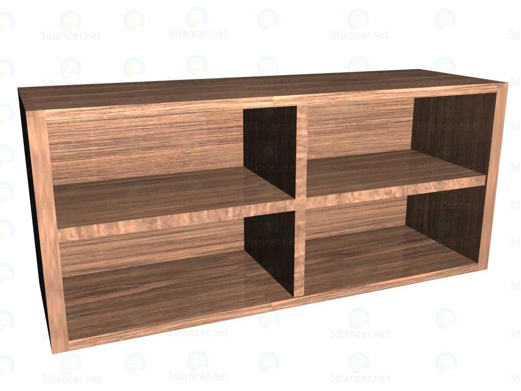 3d model Armario abatible horizontal - vista previa