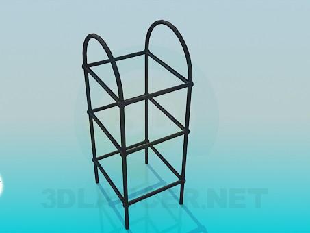 3d модель Підставка для вазонів – превью