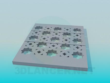 Descarga gratuita de textura Losa de hormigón con patrón - imagen