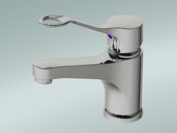 Miscelatore lavabo con leva canna lunga 160 mm (GB41214045 64)