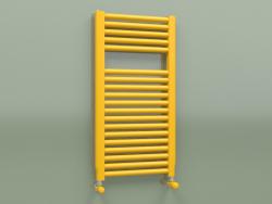 Heated towel rail NOVO (764x400, Melon yellow - RAL 1028)