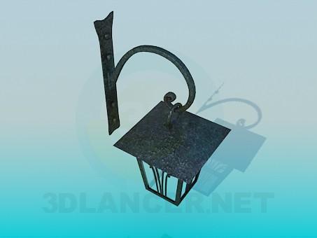 3d model Lantern Wall - preview
