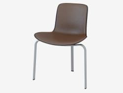 पीके 8 चमड़े के असबाब कुर्सी