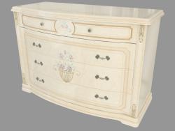 Dresser for a bedroom (1308х880х571)
