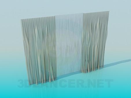 modelo 3D Cortinas - escuchar