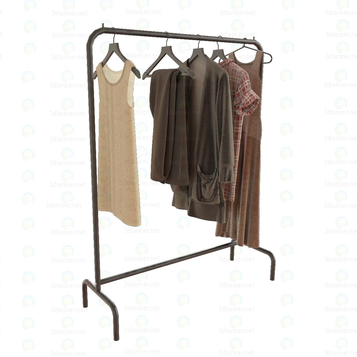 3d model Hanger floor - preview