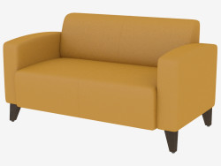 Sofá de cuero moderno Unon 2