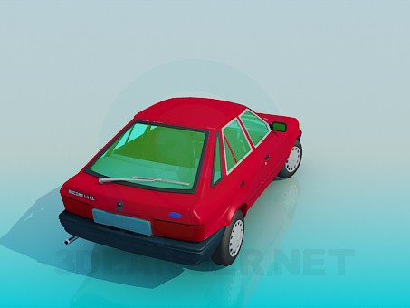 3d model Ford Escort - preview