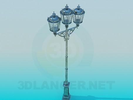 3d modeling Lantern High Poly model free download