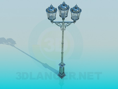 3d model Lantern High Poly - preview