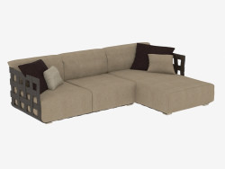 Corner sofa Triple Braid (272х181х69)