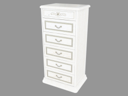 Chest of drawers K-6 (670Х1302Х489)