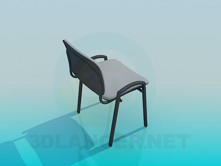 modelo 3D Silla de oficina - escuchar