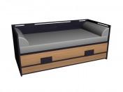 Диван-кровать 90х200
