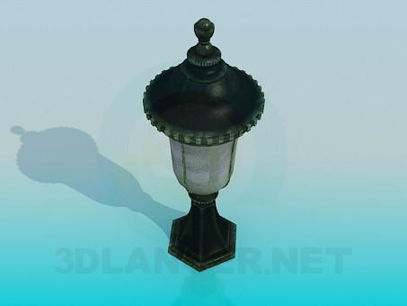3d модель Светильник парковый – превью