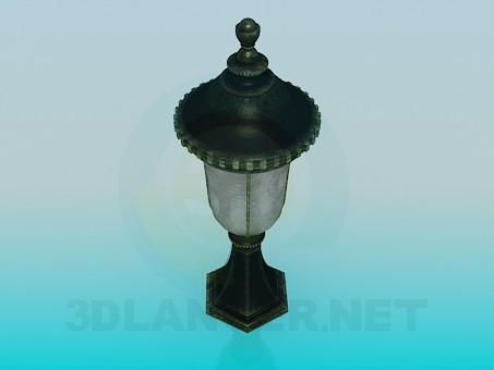 modelo 3D Parque de la lámpara - escuchar