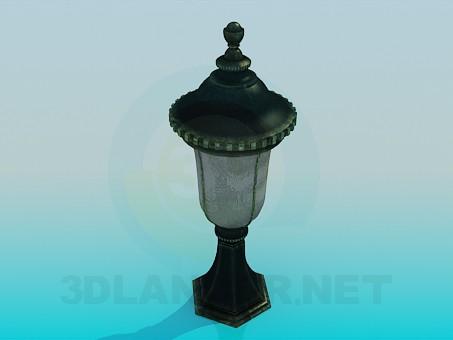 3d model Lamp park - preview