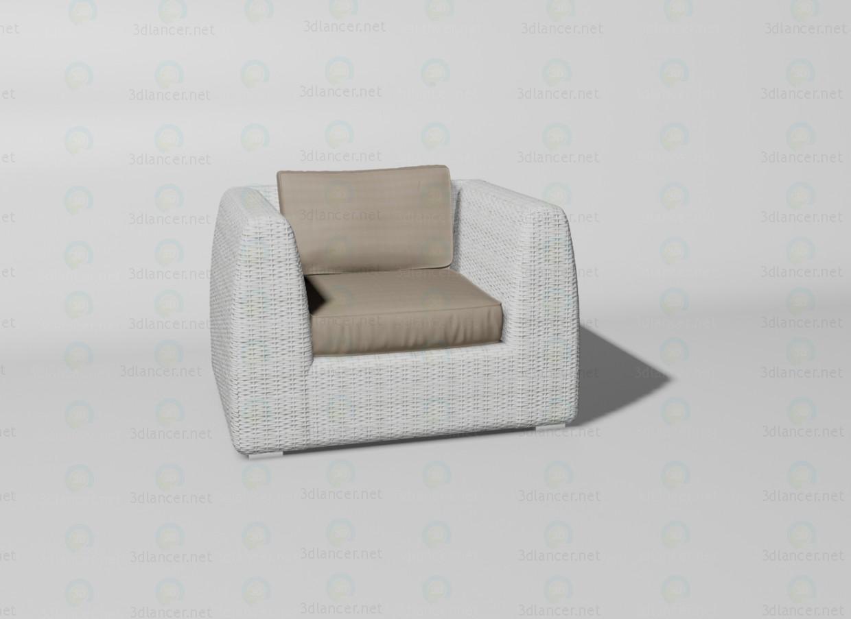 3d модель Udine крісло – превью