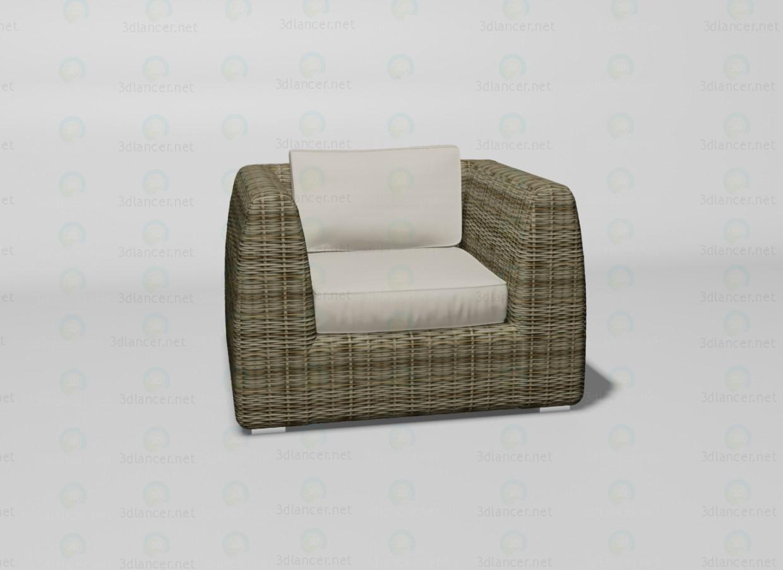 3d модель Udine кресло – превью