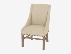 Une chaise à manger avec accoudoirs NOUVEAU CHEVALET CHAISE (8826.0002.A015.A)