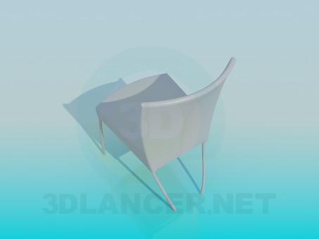 3d модель Cтул – превью