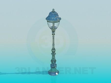 modelo 3D Parque de linterna - escuchar