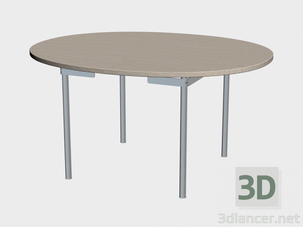 3d model dining table ch334 manufacturer carl hansen id for Dining table models
