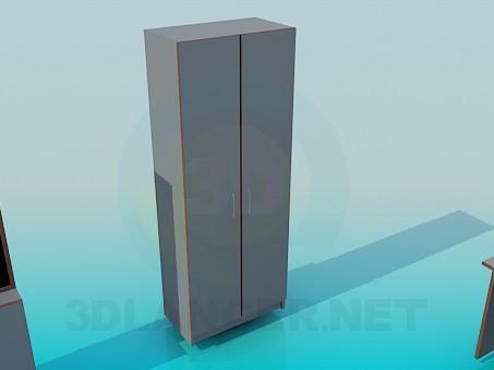3d модель Комплект мебели для офиса – превью