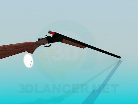 3d моделирование Охотничье ружье модель скачать бесплатно