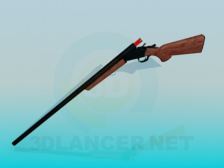 3d model Hunting rifle - preview